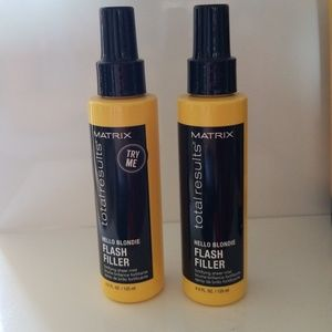 Set of 2 matrix total results hello blond leave in